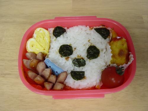 クマさん弁当