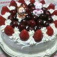 5才のバースデーケーキ