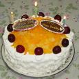 パパ&ヒロのバースデーケーキ